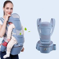 Ergonomic Baby Backpacks Carrier Cushion Front Sitting Kanga...
