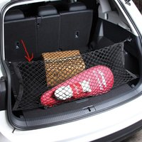 Organizador de automóviles 90 * 40 cm de estilo de bota de estilo de malla de malla Elástico Nylon trasero trasero Tronco de carga Equipaje Titular de la red Auto Accesorio