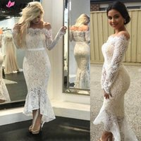 Casual Dresses Summer Elegant Long Dress Women White Lace Slash Neck Mermaid Sexy Hollow Lace-Up Bodycon Party Maxi Vestidos