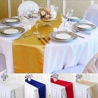 الحرير الجدول العدائين لحفل زفاف الديكور الحديثة عداء ديكور المنزل 30 سنتيمتر × 275 سنتيمتر السفينة حرة
