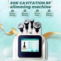 SPA Salon Utilisez une liposuccion ultrasonique à ultrasons 80K Cavitation Minceur Device RF Body Slim Machine LED LED