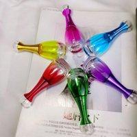 20 мл Мода цветные парфюмерные бутылочки стекло косметические сущности нефть личной уход жидкость пустые распылительные бутылки FWD8274