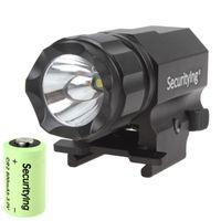 손전등 횃불 고품질의 고품질 acticlicle 600 루멘 R5 LED 전술 총 P05 3.0V 800mA CR2 배터리 야외 / 집