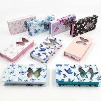 butterfly window false reselash box длинные пустые норковые ресницы с ложной бабочкой напечатаны розовые ложные ресницы упаковывая коробка hwe8964