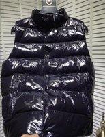 망 디자이너 조끼 패션 자켓 조끼 outwear 코트 따뜻한 탱크 탑 남성 여성 지퍼 코트 민소매 재킷 방수 겨울