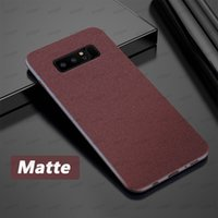 Matte Frosted Soft TPU Phone Cases For Samsung A01 A11 A21 A41 A51 A71 A81 A91 A10 A20 A20E A50 A70 S8 S9 modern stylish Comfortable feel cover case
