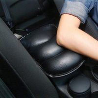 Seat Cushions Car Box Armrest Soft Pad Cushion Mat PU Auto Console Central For Universal Padding Protective Mats