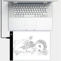 Mini A5 Size Tracing Light Box LED Graphic Written Tablet Paint Edge Copy Mat Modules