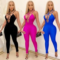 Adogirl creux Holless Holle Elegant Long Womens Femme Sexy Night Party Femme Jumpsuit Modycon Jumps One Piece Taille Plus Taille Jumpsui