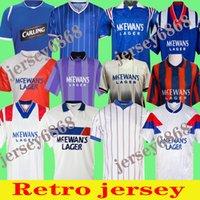 Glasgow Rangers Retro jerseys 1987 1990 1992 1994 1995 1996 special edition 08 09 82 83 blue Vintage kits GASCOIGNE Classic football shirts