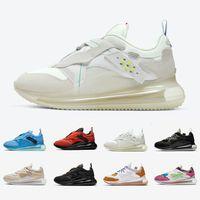 Nike air max 720 airmax Team Orange 720 Slip OBJ Mens Running shoes Summit White Triple Black University Blue Multi Desert Ore 720s men women sports sneakers chaussures Zapatos