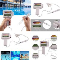 Pool & Accessories Ly PH Tester Chlorine Level Meter Swimming Spa Water Quality Measurement Monitor Checker SD669
