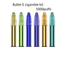 100% Authentic Bullet E cigarette Kits 5000puffs 650mah Battery 3.5ml Refillable Cartridge Rechargeable Vape Pen Yocan Falcon Air bar max