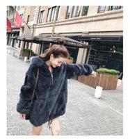 Women's Fur & Faux Red Grey Blue Rex Hooded Parka Jackets Coat Outwear Garment Oversize Boyfriend Pullover Jacket Plus Size