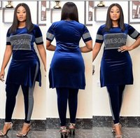 Бархатная африканская одежда 2 кусок набор женщин осень зима 2021 африка одежда плюс размер высококачественный знаменитый костюм платья этнические