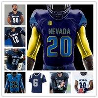 Personalizzato College Football Nevada Wolf Pack Jersey Carson Strong Sam Hammond Toa Taua Trevor prezzo Daniel Gzesiak Dom Peterson Romeo Doubs Devonte Lee 4XL