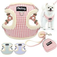Dog Collars & Leashes Soft Thick Harness Leash With Bag No Pull Chihuahua Puppy Pet Strap Adjustable For Small Medium Dogs