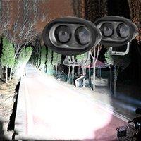 ماء الصمام ضوء المحمولة الأضواء دراجة نارية الطرق الوعرة شاحنة القيادة سيارة قارب العمل ضوء الصمام المصابيح الأمامية 12 فولت 24 فولت مصباح الضباب