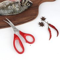 Nuevo Cangrejo de camarones de langosta popular Tijeras de mariscos Cizallas Screen Shells Herramienta de cocina Popular DHL envío HHD6031