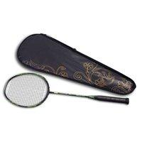 6U 72g Ultralight Carbon Badmintonschläger mit String Badminton Bag Padel Schläger Erwachsene Single Shot Outdoor Indoor Sports