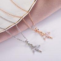 Mode vielseitige Titan-Stahl-Halskette Koreaner Dongdamen Net Red New Ballet Tänzerin Prinzessin Mädchen Clavicle CH