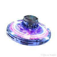 FlyNova UFO Fidget Spinner Kids Flying Toys Decompression Aircraft Adult Funny Fingertip Spinning Tops Kids 360° Free Sailing Boomerang 06