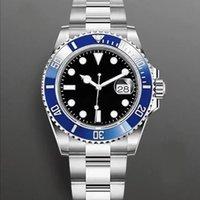 망 시계 자동 기계식 시계 40mm 여성 손목 시계 수명 방수 스테인레스 스틸 손목 시계 몬트르 드 럭스 5 색