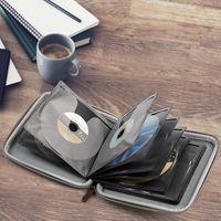 Car Organizer CD DVD Case Holder Portable Wallet Storage For Game Bag