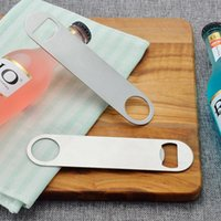 Sublimation DIY White Blank Stainless Steel Long Bottle Openers HHB6964