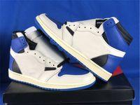 2021 Travis Scott Fragment Authentic 1 High OG SP Zapatillas al aire libre para hombre Militar Militar S B Cactus Jack Dunk PlayStation Baja Suede Suede Thy Pin