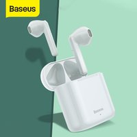 Baseus W09 TWS سماعة بلوتوث لاسلكية التحكم الذكي اللمس اللاسلكي سماعات لاسلكية TWS مع ستيريو باس الصوت الذكية