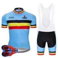 Moxilyn 2020 Bélgica Ciclismo Jersey Set MTB Uniforme Bicicleta Roupa Respirável Roupa de Bicicleta Desgaste Masculino Curto Maillot Culotte
