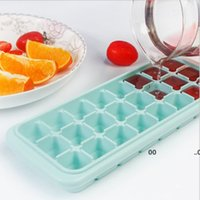 24 G Silicone Ice Making Mould Cube Tray Maker Bar Products Freeze Mold Ice-making For Cocktail Whiskey Drink Tools Baking Moulds FWF10406