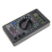 멀티 미터 전문 DT832 디지털 멀티 미터 LCD DC AC 전압계 전류계 옴 테스터 J6PC