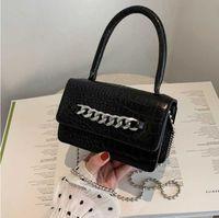 Designer Bags Womens Handbags Crossbody Bag Backpack Chain Mini Mobile Purse Alligator Pattern Retro Premium Texture Trendy Women's Hand 20