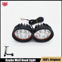 Original Head Light Assembly for Kaabo Wolf Warrior KickScooter Headlight Wolf King Electric Scooter Front Light Replacements