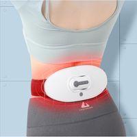 كامل الجسم مدلك ضغط الخصر ems عشرات الأشعة تحت الحمراء التدفئة يخفف قطني العضلات سلالة اللاسلكية البعيد تدليك المنزل أداة الاسترخاء المنزل