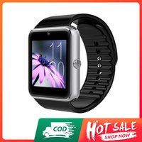 Accept cash on delivery-stock in Nigeria-fast delivery--Smart watch GT08, clock sync notifier supports sim card, bluetooth connectivity, ios, android, mp3 music player