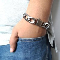 "Masculine Bracelet Figaro Chain 100% Stainless Steel 6mm 8mm 12mm Width 8"" Inches Silver Color Jewelry For Men Women Link,"