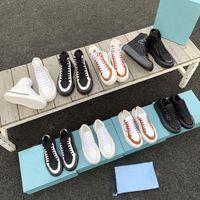 2021 최고 디자이너 남자 여성 높은 낮은 발 뒤꿈치 캔버스 신발 여자 남자 타이어 인쇄 밑창 운동화 커플 러너 트레이너 운동화 상자 큰 크기 35-46