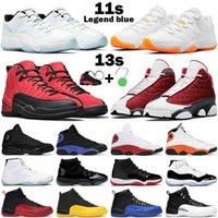 Basketbol Ayakkabıları Erkekler Kadınlar 11s Legend Mavi Düşük Concord Narenciye 13 S Red Flint 12 S Gerik Grip Oyunu Üniversitesi Altın Siyah Kraliyet Erkek Sneakers