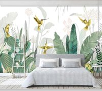 Wallpapers Papel De Parede Modern Southeast Asian Plant Forest 3d Wallpaper Mural,living Room TV Wall Bedroom Papers Home Decor