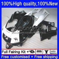 Kit de cuerpo para HONDA CBR600FS CBR600CC CBR600F2 1991 1992 1993 1994 Carrocería 34NO.81 CBR600 F2 91-94 CBR 600F2 600 F2 FS CC 600CC 600FS 91 92 93 94 BLANCO NEGRO