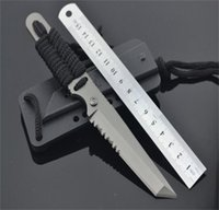 2310 Tactical Fixed blade knife 3Cr13mov Titanize Zytel handle for outdoor camping hiking hunting fishing EDC tools