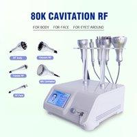 80k cavitation Ultrasonic slimming body shaping vacuum rf weight loss liposuction massage machine for home spa