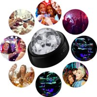 Crystal Ball Lamp Laser Projector Disco DJ Stage LED Lighting Glow Party Supplies Decoration