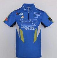 Nueva camiseta de carreras de motocicletas Camisa de polo de solapa Cultura de motocicletas Motocicleta de manga corta Fábrica de fábrica Caballero Camisa de equitación