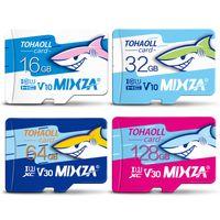 MIXZA HY Оригинальная карта памяти 256 ГБ 128 ГБ 64 ГБ U3 80MB / S 32GB SD-карта Class10 UHS-1 Память памяти памяти TF SD
