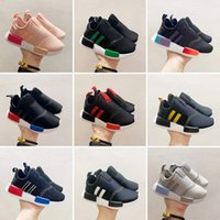 Erkek Kız Bebek Orijinalleri Kids  NMD 360 c Rahat Ayakkabılar Yeni Çocuklar NMD 360 C Çocuk Koşu Ayakkabıları Ücretsiz Nakliye Boyutu: 22-35