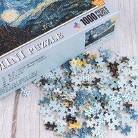 DHL Jeu Multiple Styles Mini Picture Puzzles Puzzle 1000 Pièce pour Jeux Jouets éducatifs 50Se 5m92